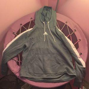 An adidas sweatshirt